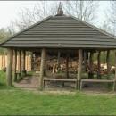 Hytte i børnehaven Mellergaard